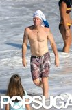 Tennis star John McEnroe took a dip in St. Barts back in March 2008.