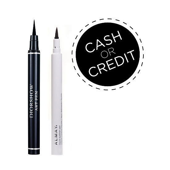 Cash or Credit: Walk the Line With These Precision Liner Pens