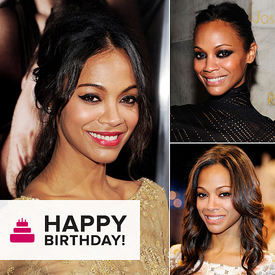 Happy Birthday, Zoe Saldana! Look Back at Her Best Beauty Moments