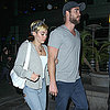 Miley Cyrus and Liam Hemsworth Together in LA