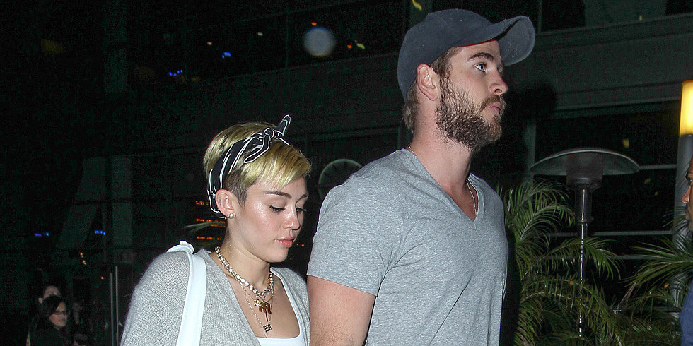 Miley and Liam Photographed Together For the First Time Since January