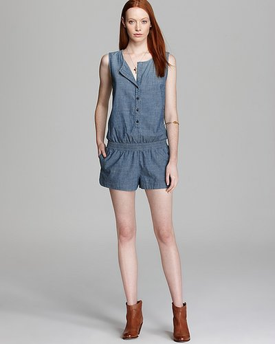 AG Adriano Goldschmied Romper - Sleeveless Chambray