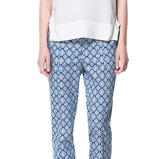 Printed Slouchy Pants