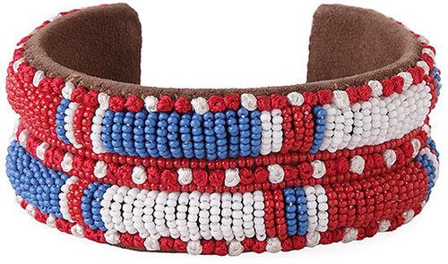 Isabel Marant / Americana Wide Beaded Cuff