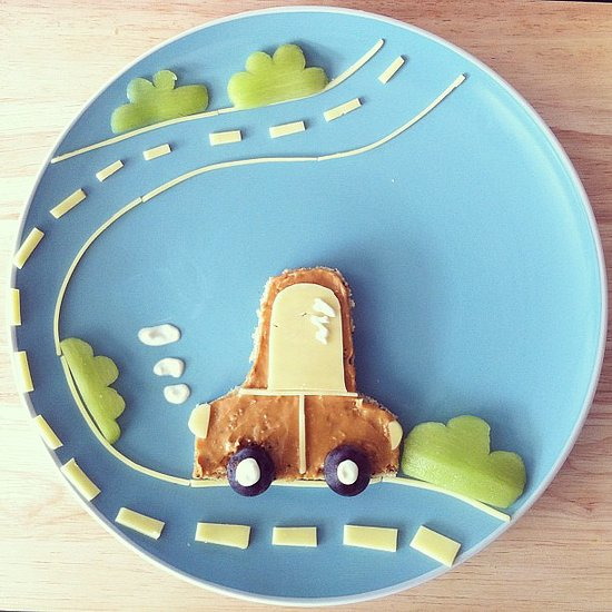 Whether it's for a toddler or not, this sandwich is too cute not to love.  Source: Instagram user barebarnematen