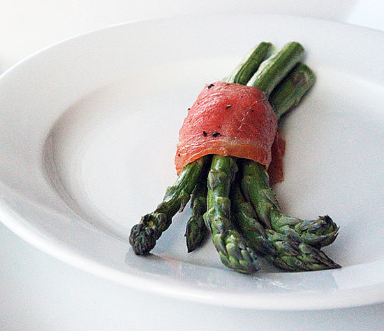 Asparagus and Salmon Bundles
