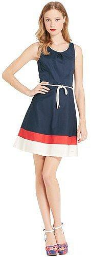 Tommy Hilfiger Women's Sleeveless Colorblock Dress
