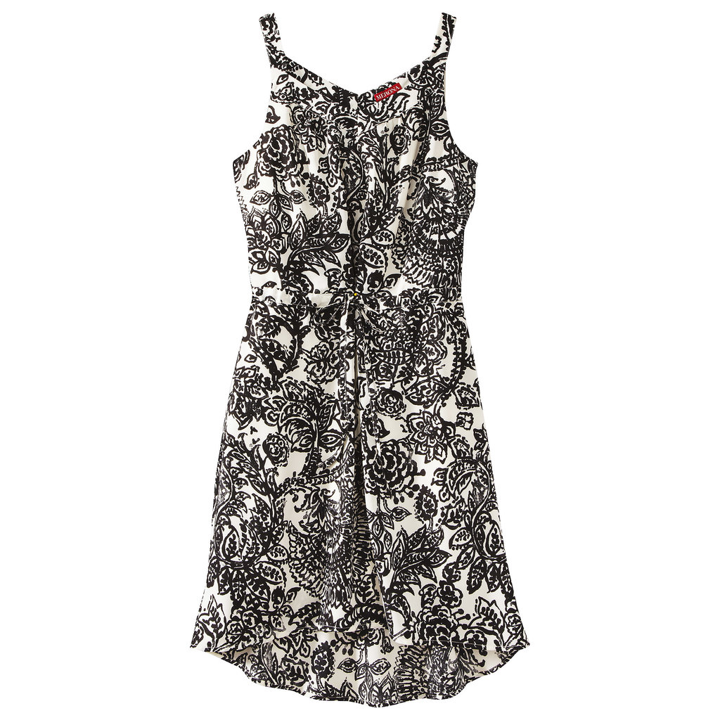 Classic dressers: inject some prints into your wardrobe starting with this black-and-white Merona variety ($25).