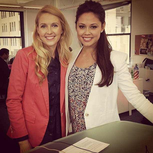 Vanessa Lachey was a guest on POPSUGAR Live! in NYC. Source: Instagram user popsugar