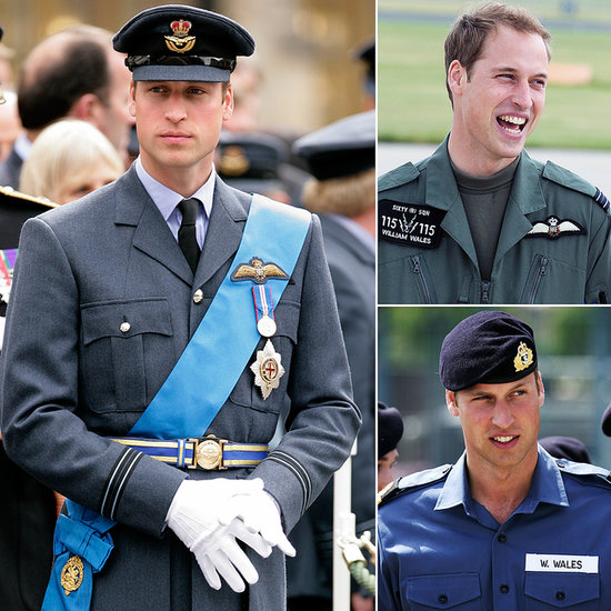 Prince William's Cutest Moments in Uniform