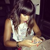 Kelly Rowland participated in an iTunes chat with fans. Source: Twitter user KELLYROWLAND