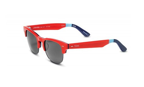 Design guru Jonathan Adler has joined fashionable forces with TOMS for a sunglasses collection just in time for Summer. You can choose from three equally cool options, and of course, for each pair purchased, the company will donate another to someone in need.
