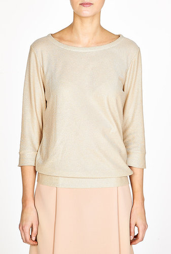 A.P.C. Metallic Detail Sweatshirt