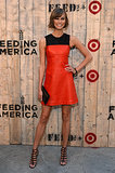 Karlie Kloss attended the Target + Feed collaboration party in NYC.