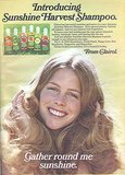 Clairol has harvested all the fruits of Summer in this shampoo ad, including strawberry, peach, lime, raspberry, tangerine, and honeydew. Could these be the predecessors to Herbal Essences? Source: Flickr user twitchery