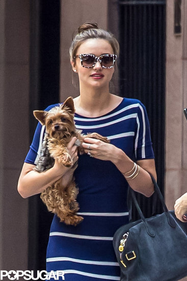 Miranda Kerr Kicks Off the Dog Days of Summer