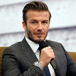 David Beckham Causes Stampede in Shanghai