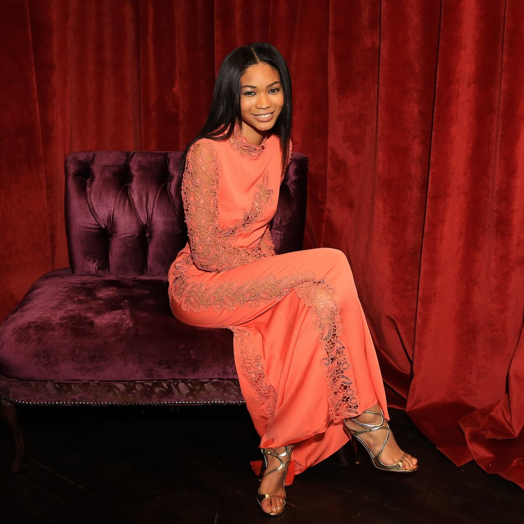 Chanel Iman at the Spectral premiere in New York. Source: Will Ragozzino/BFAnyc.com