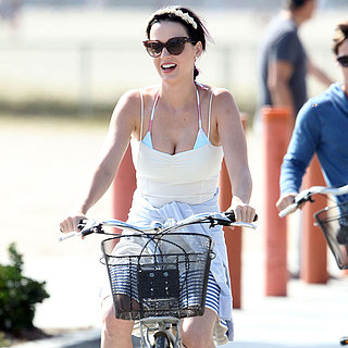 Celebrities on Bikes | Photos