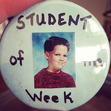 Benji Madden threw back to his memory of being the student of the week in elementary school. Source: Tumblr user everybodylovesthebman