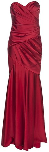 Notte By Marchesa Fitted sweetheart dress
