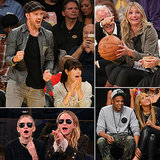 It's the NBA Finals — See Stars Sitting Courtside