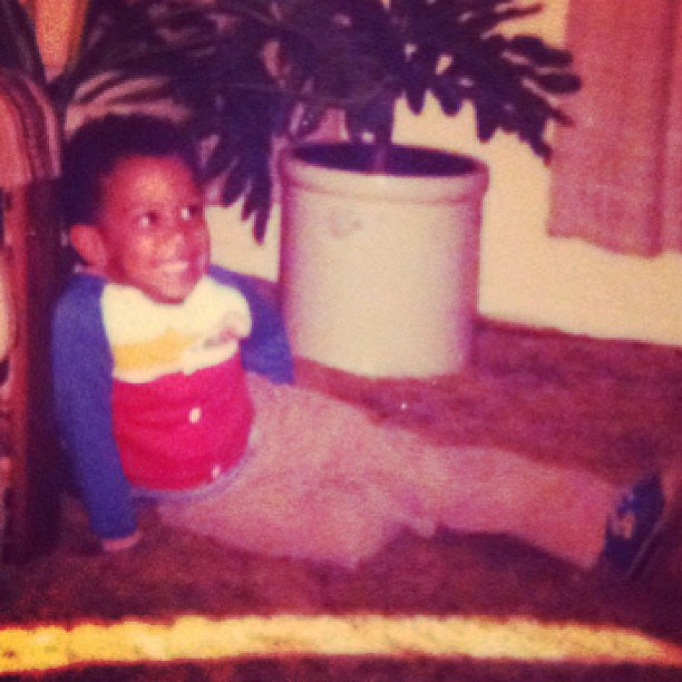 Fans got to see a special snap of baby Ludacris on Throwback Thursday.  Source: Instagram user itsludacris
