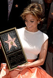 "J Lo Goes From ""Jenny From the Block"" to the Hollywood Walk of Fame"