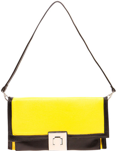 Lydia Colour Block Clutch Bag