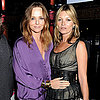 Kate Moss and Stella McCartney at Rock On Benefit in London