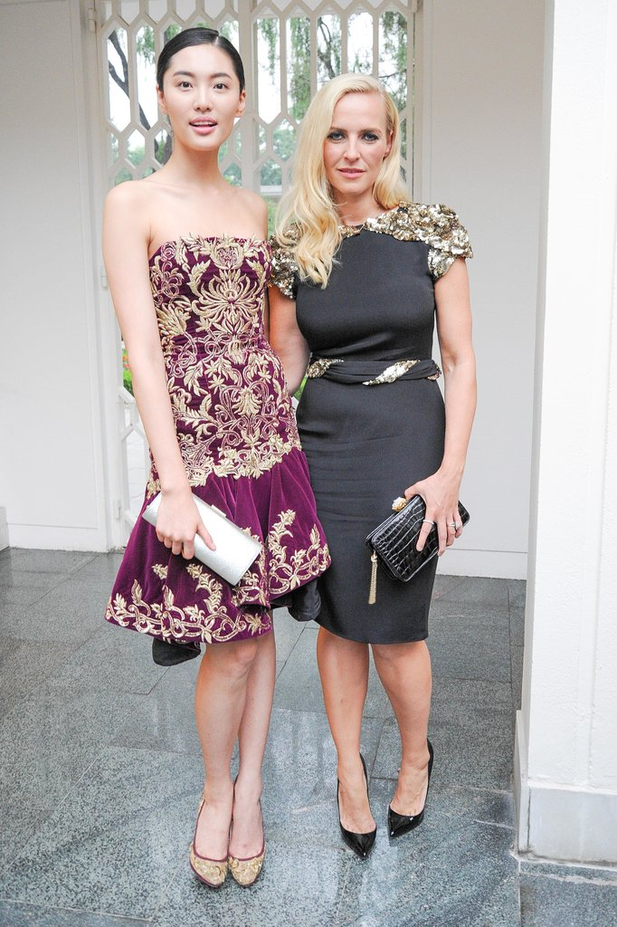 Bonnie Chen and Keren Craig at the CFDA and Vogue Fashion Fund Americans in China cocktail party in Beijing. Source: Neil Rasmus/BFAnyc.com
