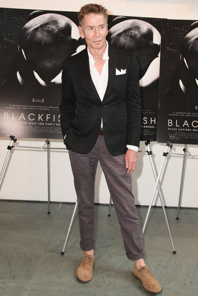 Calvin Klein at a CNN Films and Magnolia Pictures screening of Blackfish in New York. Source: Matteo Prandoni/BFAnyc.com