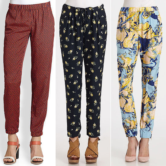 It's time to break out the printed pants, people.