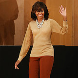 Michelle Obama never ceases to amaze us with her signature style, especially when she's touring Europe.