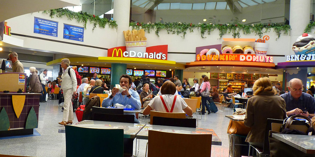 Food-Court Survival: Healthy Fast-Food Options