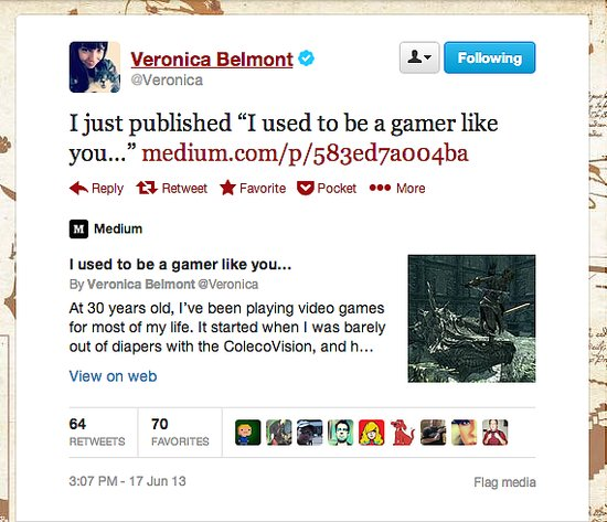 The Sync Up host Veronica Belmont explains why she isn't picking up her controller as much these days.
