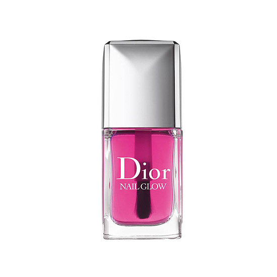 This bottle of Dior Nail Glow ($24) looks like a bright pink, but the sheer polish lends the right amount of color to brighten the white of your nails and nail beds for a stunning effect.