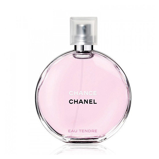 Chanel Chance Eau Tendre ($68-115) is colored a sweet shade of pink, and it's made up of soft, feminine notes like grapefruit, jasmine, and white musk.