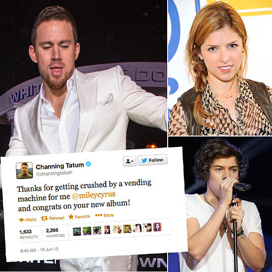 Tweets Of The Week: Harry Styles, Anna Kendrick, Channing Tatum & More!