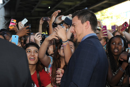 Down in DC: Channing Tatum Brings His Latest to the Capital