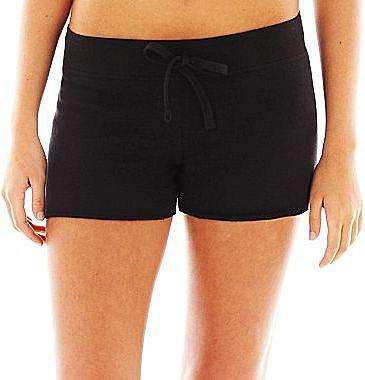 Rubber Doll Performance Drawstring-Waist Cutoff Shorts