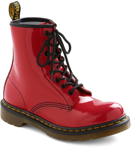 Dr. Martens Tread Brightly Boot in Red