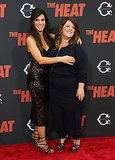 Sandra Bullock embraced her pal Melissa McCarthy at the premiere of The Heat in the Big Apple.
