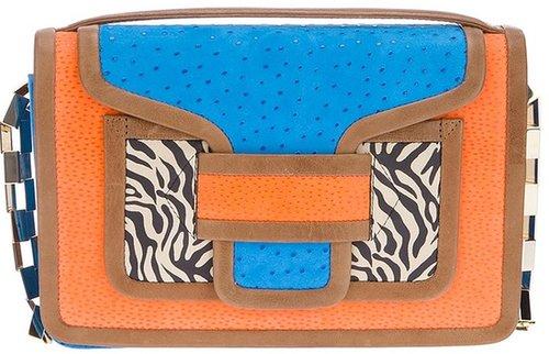 Pierre Hardy 'Zebra Patch Handbag'