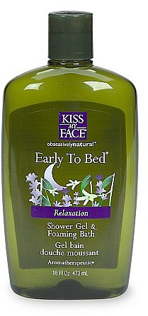 Kiss My Face Early to Bed Calming Bath & Shower Gel Clove & Ylang Ylang