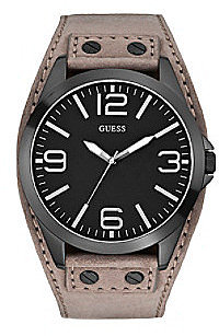 Guess Black/Grey Masculine Tapered Cuff Trend Watch