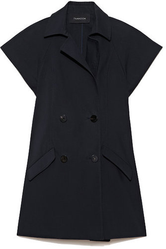 Preorder Thakoon Cotton Coating Short Sleeve Trench