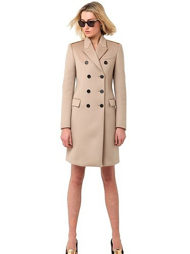Double Breasted Cashmere Cloth Coat