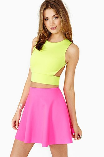 Jolt Crop Top