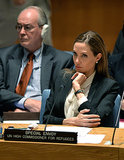Angelina Jolie told the UN Security Council that dealing with war-zone rape should be a top priority.